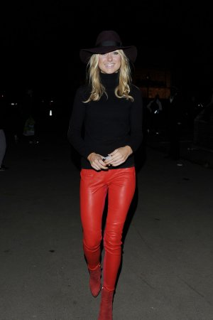 Kimberley Garner attends Winter Wonderland 2014