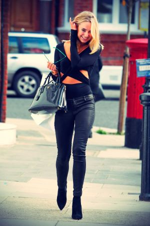 Kimberley Garner out shopping in Chelsea