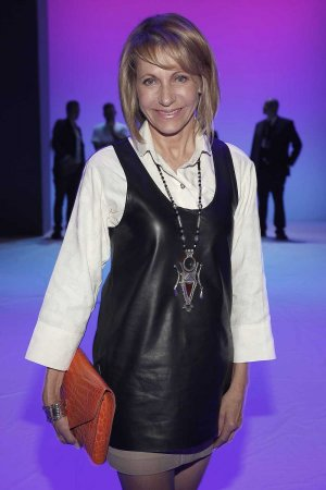 Kimberly Emerson attends the Jeans For Refugees By Johny Dar show