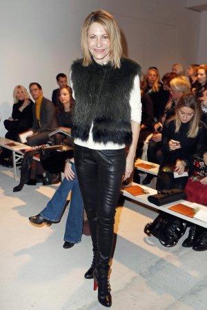 Kimberly Emerson attends the Mercedes-Benz Fashion Week Berlin