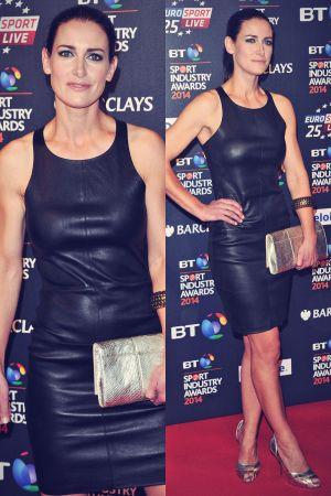 Kirsty Gallacher attends BT Sport Industry Awards