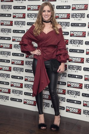 Kirsty J Curtis attends screening of Bonded by Blood 2