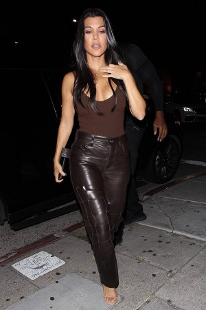 Kourtney Kardashian at the Nice Guy