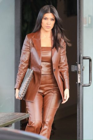 Kourtney Kardashian is all business