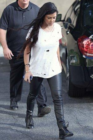 Kourtney Kardashian seen out in Calabasas