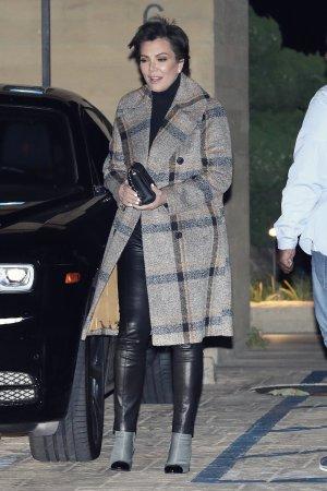 Kris Jenner at Nobu