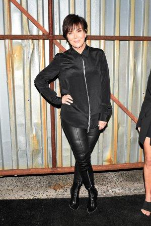 Kris Jenner attends Alexander Wang show