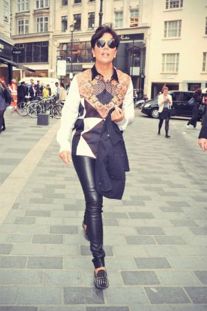 Kris Jenner in Browns Oxford Street