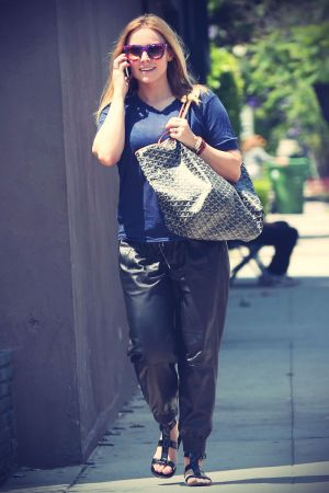 Kristen Bell out and about at Melrose Place