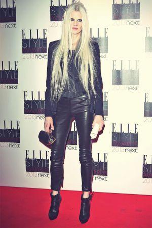 Kristen McMenamy The 2013 Elle Style Awards