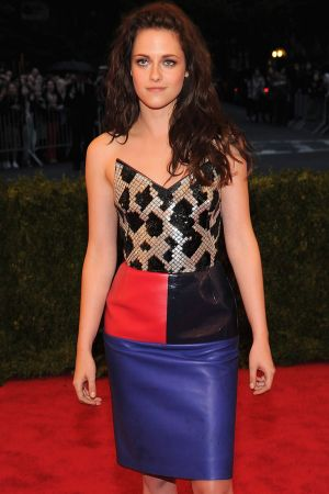 Kristen Stewart at Metropolitan Museum