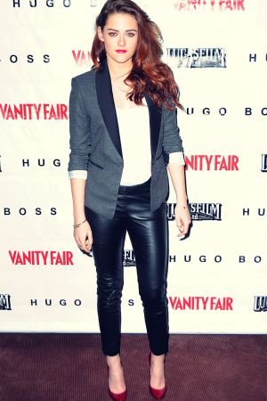 Kristen Stewart attends the On the Road Vanity Fair Screening