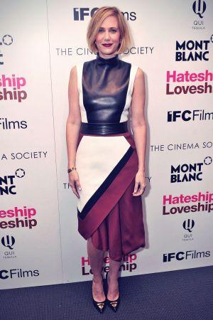 Kristen Wiig attends the screening of IFC Films Hateship Loveship