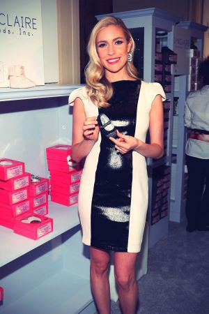 Kristin Cavallari at QVC Presents FFANY Shoes On Sale event