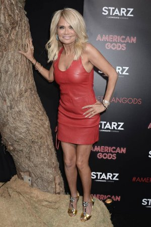 Kristin Chenoweth attends the premiere of her Starz series American Gods