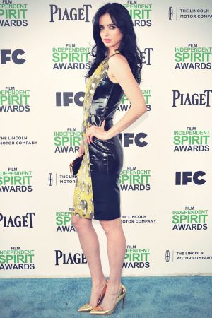 Krysten Ritter attends 2014 Film Independent Spirit Awards