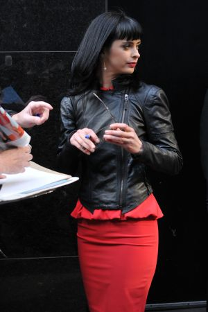 Krysten Ritter outside Good Morning America