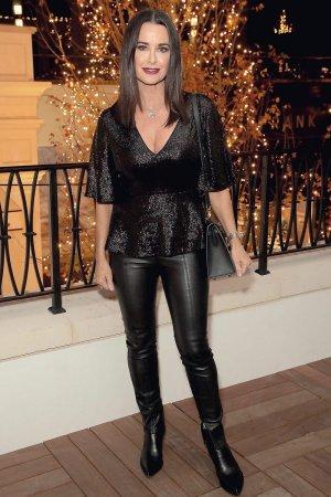 Kyle Richards attends Rachel Zoe Palisades Village Holiday Celebration