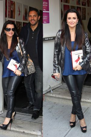 Kyle Richards leaves The Wendy Williams Show after promoting her new book