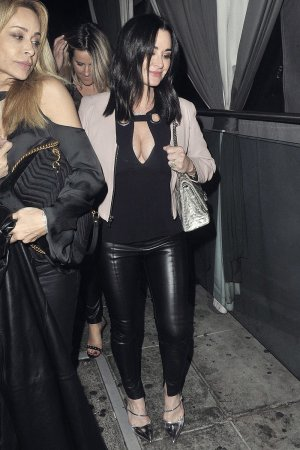 Kyle Richards stops by Pump for a birthday