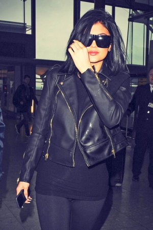 Kylie Jenner at Heathrow Airport