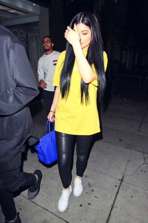 Kylie Jenner leaves Barneys New York