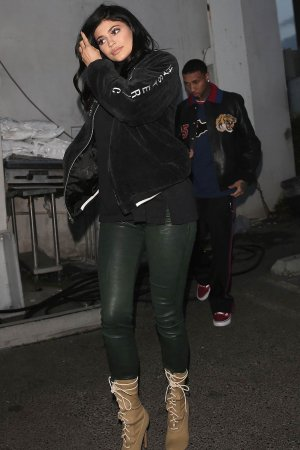 Kylie Jenner out for dinner at Kabuki restaurant