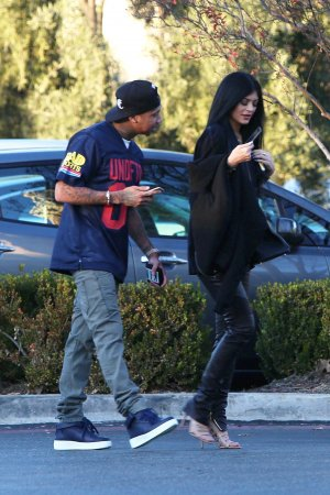 Kylie Jenner out for Lunch in Calabasas