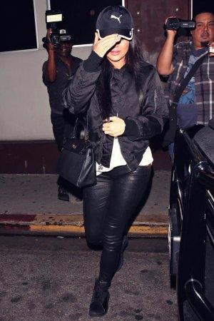 Kylie Jenner seen at Nobu