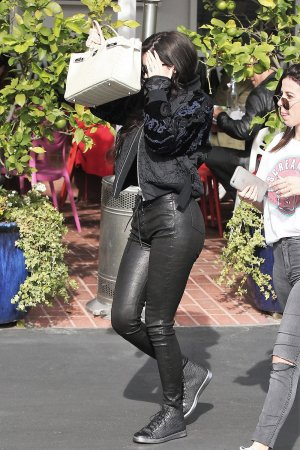 Kylie Jenner shopping at Fred Segal