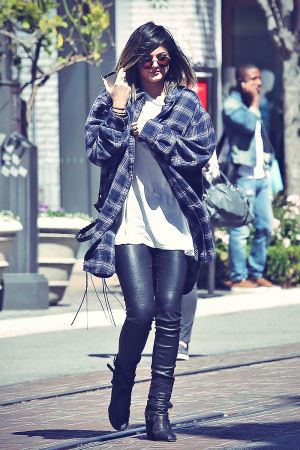 Kylie Jenner shopping at The Grove