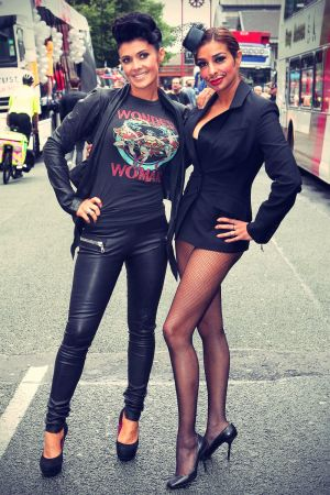 Kym Marsh at Manchester Pride