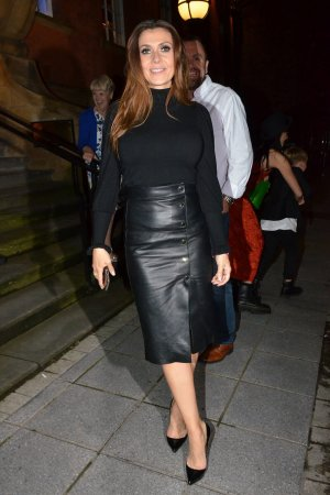 Kym Marsh at San Lorenzo Restaurant