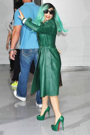 Lady Gaga at Narita International Airport