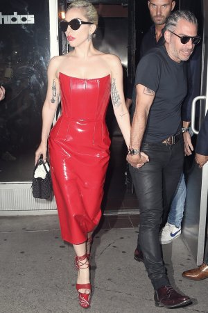 Lady Gaga seen in New York