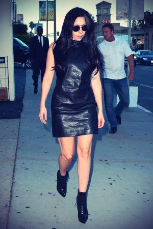 Lady Gaga Walks Sunset Boulevard  Back to Her Hotel