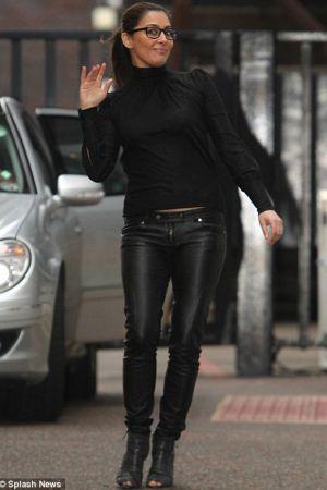 Laila Rouass ITV studios Lorraine Kelly show