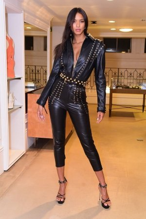 Lais Ribeiro poses for the new Loja Bobo collection