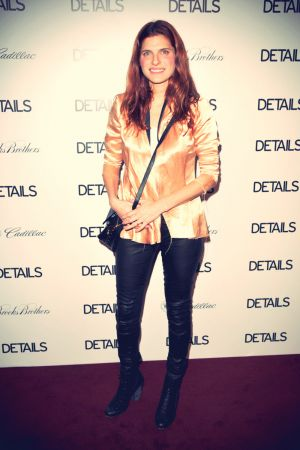 Lake Bell attends DETAILS Hollywood Mavericks Party