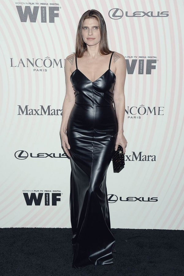 Lake Bell attends Women In Film Crystal and Lucy Awards