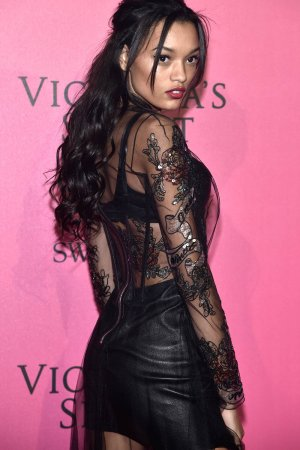 Lameka Fox attends the 2016 Victoria's Secret Fashion Show after party