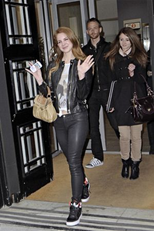 Lana Del Ray  at BBC studios in London