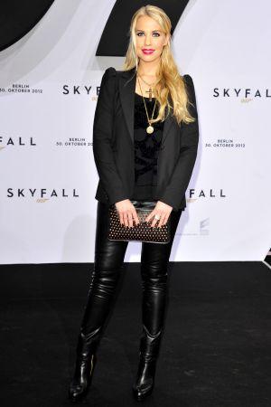Lara Isabelle Rentinck attends the German premiere of Skyfall