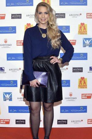 Lara-Isabelle Rentinck attends the Helden des Alltags Gala