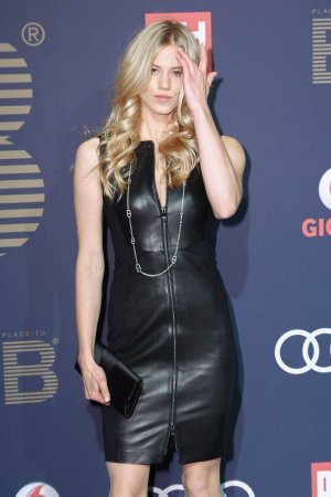 Larissa Marolt attends the PLACE TO B Pre-Berlinale Party