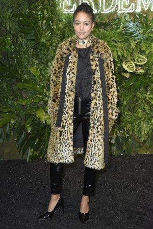Larissa Sirah Herden attends Designer-Kollaboration ERDEM x H&M