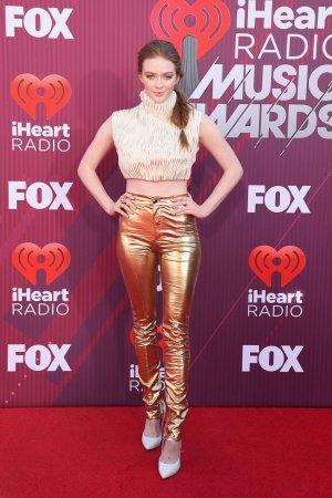 Larsen Thompson attends 2019 iHeartRadio Music Awards