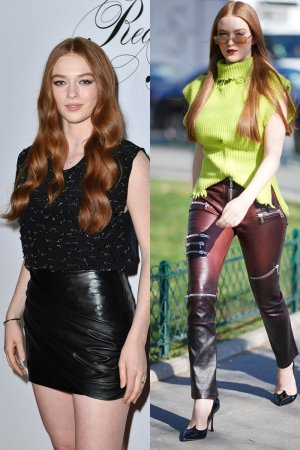 Larsen Thompson attends Redemption fashion show