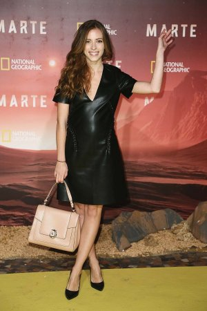 Laura Adriani attends the premiere of Marte