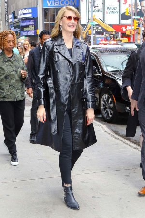 Laura Dern leaving the Good Morning America studios